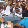استقبال غير مسبوق في جدة للاعب احمد الفريدي