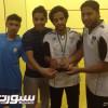 سيف هجر بطل الأسكواش وحازمي الهلال ثاني البطولة
