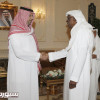 اجتماع مصغر بين الأمير عبدالله بن مساعد والدكتور أحمد عيد يناقش تطوير المنشآت الرياضية