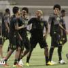 بالصور: الاتحاد يعاود تدريباته بعد الاجازة والدوليون ينتظمون مع الفريق