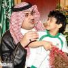 """الأمير نواف بن فيصل يلتقي مدير جمعية """" إنسان """""""
