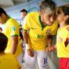 شاهد صور من مباراة البرازيل وكولومبيا