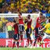 بالفيديو: دفاع البرازيل يمنحها التأهل من أمام كولومبيا