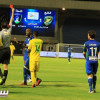 صور من مباراة الخليج والشعلة