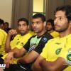 بالصور: مدرب الخليج يجهز لاعبيه بمشاهدة مباريات ألمانيا وفرنسا