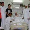عضو شرف الوحدة بن صالح يلازم السرير الأبيض