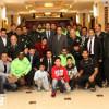 سفير خادم الحرمين بأوزباكستان يحتفي ببعثة الاتفاق