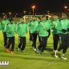 بالصور: وسط الأجواء الباردة العروبة يواصل تدريباته والمكافآت تحفز الفريق