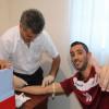إختبارات لياقية وفحوصات دم للاعبي الفيصلي – صور