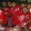 بالصور: الفيصلي يعاود التدريبات ومجلس الجمهور يقيم إحتفالية
