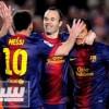 بالفيديو: ميسي يعود ويمهد الطريق أمام برشلونة للإحتفال باللقب