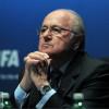 بلاتر يبحث مع أمير قطر مونديال 2022
