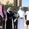 رئيس اتحاد التنس يتوج أحمد آل سعيد بكأس بطولة المملكة للتنس