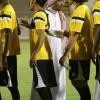 بالصور : تمارين الإتحاد تنطلق والبلوي في إجتماع مصارحة مع اللاعبين