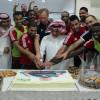 وليد عبدالله بحتفي بزملاءه في تدريبات الشباب والرئيس يوجه بمؤازرة الهلال