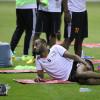 بالصور : مورايس يكثف اللياقة للاعبي الشباب ويريح رافينها