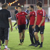 بالصور : ستامب يرفع المعدل اللياقي للاعبي الشباب والثلاثي يواصل التأهيل