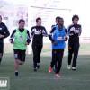 تدريبات ترفيهية للشباب استعداداً للاهلي .. وبعثة الفريق تصل إلى جدة