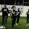 التواء المفصل يبعد فهد حمد عن الشباب .. والفريق يكتفي بحصة مسائية