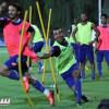 بالصور: الفتح يختتم آخر تدريباته قبل ملاقاة الأولمبي الكويتي
