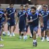 بالصور: الفتح يستعد للقاء حطين .. والراشد يشيد بانضباط اللاعبين