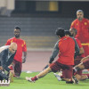 القادسية يواصل إستعداده للجيل و الشابي يجتمع مع اللاعبين