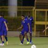 بالصور: أدريان والجيزاوي يعودان للمشاركة في تدريبات النصر