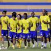 بالصور: الغامدي يعود لتحضيرات النصر .. وكارينيو يقرر اغلاق التدريبات