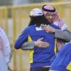 بالصور: رئيس النصر يلتقي بلاعبيه .. وعوض يبدأ المرحلة الاخيرة من التأهيل