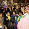 بالصور: النصر يصل للكويت وسط استقبال حافل وينهي استعداداته للقاء العربي