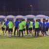 بالصور : دعم شرفي و إداري لتدريبات الهلال قبل النهائي الآسيوي