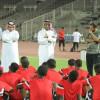 الوحدة يستعد للرياض بإجتماع الرئيس مع اللاعبين – صور