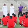 بالصور: الوحدة يواصل تحضيراته والرئيس يشكر اللاعبين