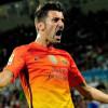 توتنهام يسعى لضم مهاجم برشلونة دافيد فيا