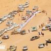 مسح مسارات رالي حائل وتوزيع النقاط الأمنية