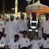 شباب الأنصار يشاركون في تنظيم الحجاج وتوديعهم بالمدينة