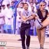 بالفيديو : رجل أمن يعتدي على مشجع بمباراة الهلال والسد