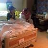 رئيس النصر يزور الطفل سعود مشعل ويعد بالمساعده في علاجه