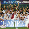 منتخب قطر للشباب بطل اسيا لكرة القدم