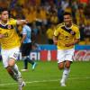 بالفيديو: ثنائية رودريغيز تقصي الأورغواي وتقود كولومبيا لربع النهائي