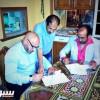 بالصور: الرائد يوقع مع الجزائري نور الدين بن زكري