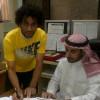 هجر يعلن رسميا انضمام لاعب التعاون مراد الرشيدي