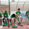 بالصور: المنتخب الاولمبي يواصل تحضيراته للقاء الكوكب