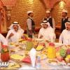 بالصور: آل همام يتبرع بمعسكر نادي نجران والشيخ مسعود حيدر يستقبل الفريق