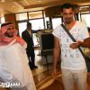 بالصور: العراقي يونس محمود يصل إلى جدة