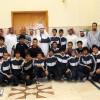 مدير جامعة الطائف يستقبل منتخب القدم و يعدهم بالمكافئات