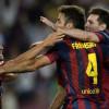 برشلونة يفوز في دربي كتالونيا على إسبانيول