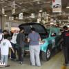 فنية اتحاد السيارات تنهي فحص مركبات رالي حائل