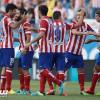 أتليتكو يلاحق برشلونة في صدارة الدوري الأسباني بفوز كبير على بيتيس