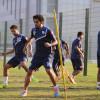 بالصور : الفتح يستأنف تدريباته على فترتين في معسكر الدوحة